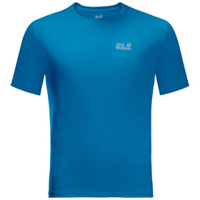 Jack Wolfskin Tech T-shirt Heren, blue pacific